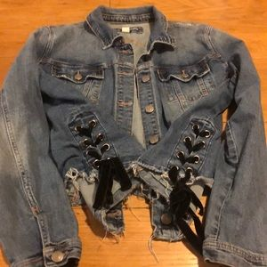 Maurice's denim jean jacket